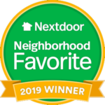 "2019 Nextdoor ""Neighborhood Favorite"" Award Winner logo"